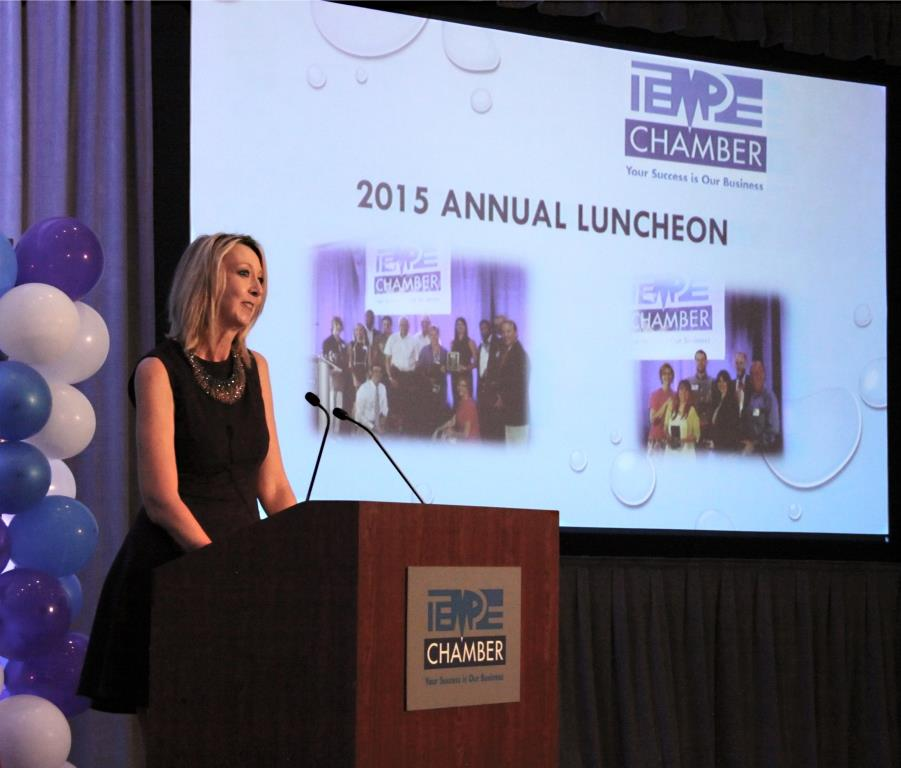2015 TCC Annual Luncheon as Outgoing Chair