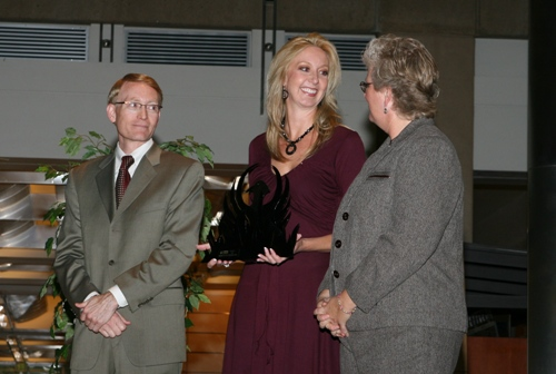Graduating from AAAMES which is a two year mentoring program that APS puts on in 2006. With Rena Huber and Bill Post