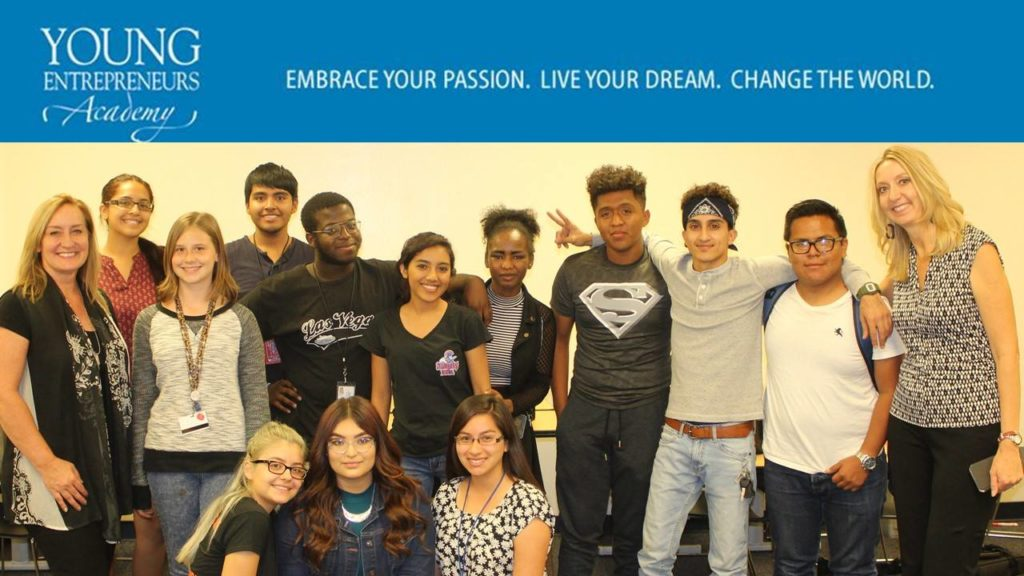 Volunteer work as instructor for YEA (Young Entrepreneur's Academy)