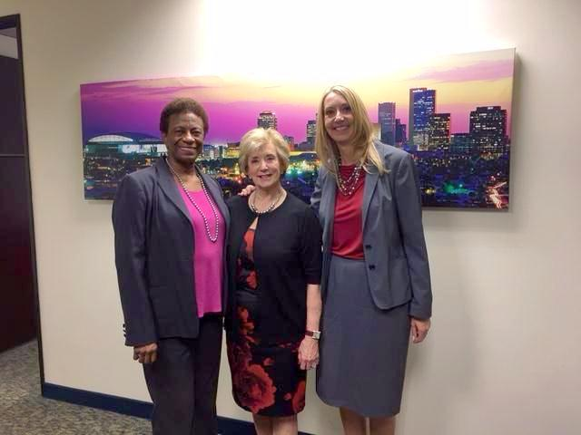 Janice Washington, Honorable Linda McMahon, Kristine Kassell